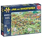 Jan van Haasteren – Grasmaaierrace Puzzel 1000 Stukjes