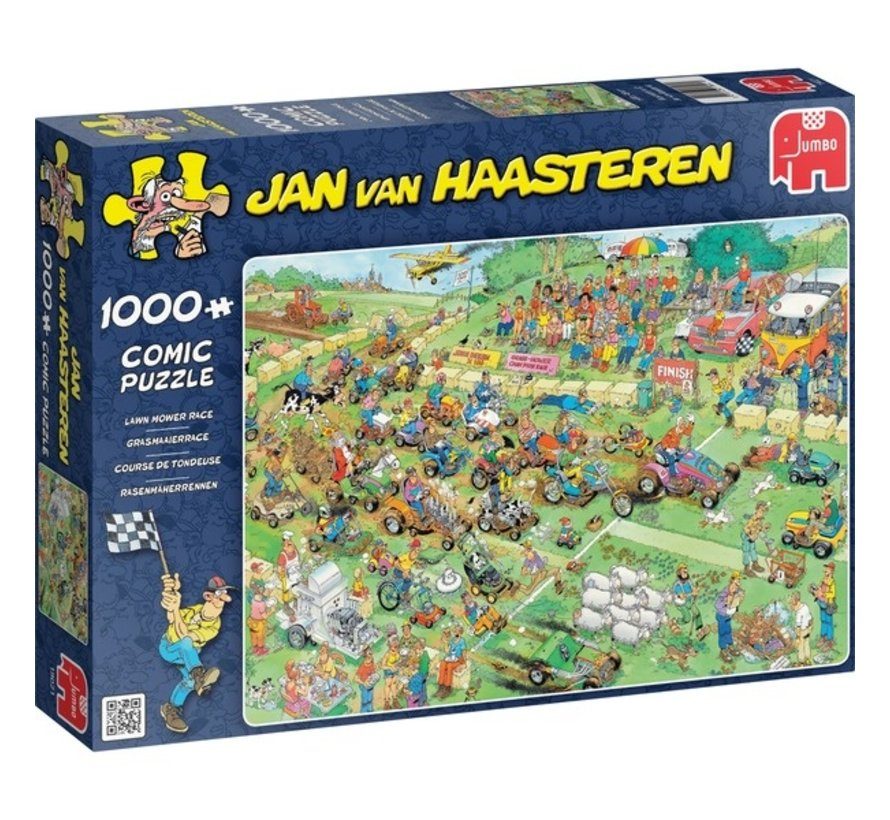 Jan van Haasteren – Lawn Mower Race 1000 Pieces