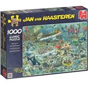 Jumbo Jan van Haasteren – Pret onder Water Puzzel 1000 Stukjes
