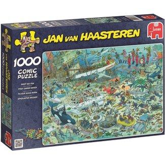 Jan van Haasteren Jan van Haasteren – Pret onder Water Puzzel 1000 Stukjes
