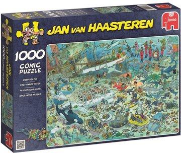 Jumbo Jan van Haasteren - Fun Under Water Puzzle 1000 Pieces