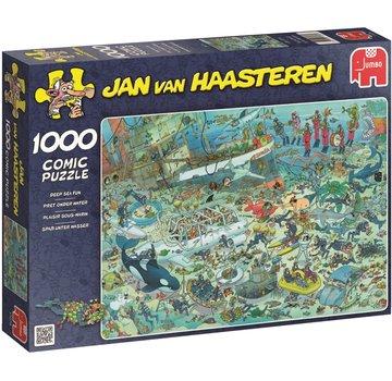 Jan van Haasteren Jan van Haasteren - Fun Under Water Puzzle 1000 Pieces