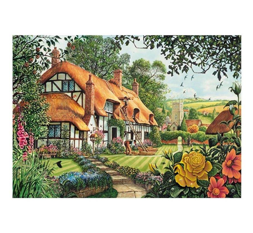 Die Woodland Cottage 2x 1000 Puzzleteile