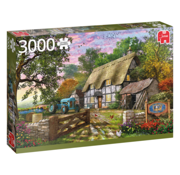 Falcon The Farmer's Cottage Puzzel 3000 Stukjes