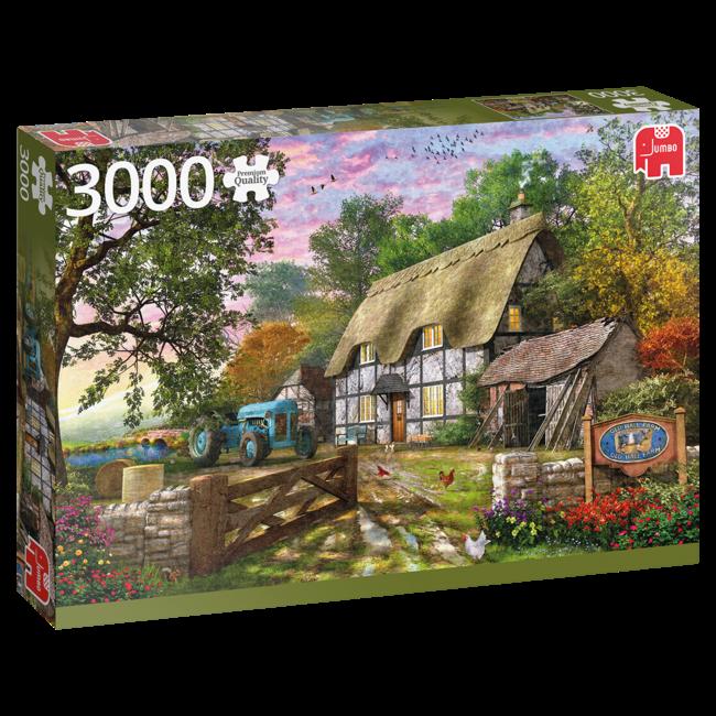 Falcon Das Bauernhaus 3000 Puzzleteile