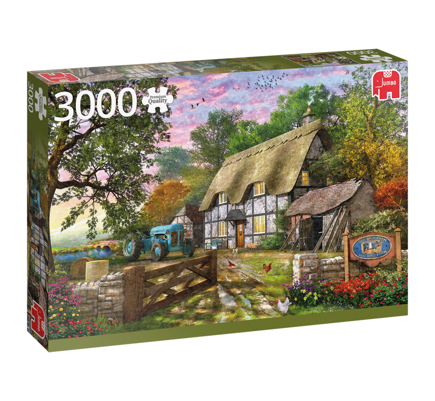 The Farmer's Cottage 3000 Piece Jigsaw Puzzle
