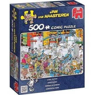Jan van Haasteren Jan van Haasteren - Candy Factory 500 Puzzle Pieces