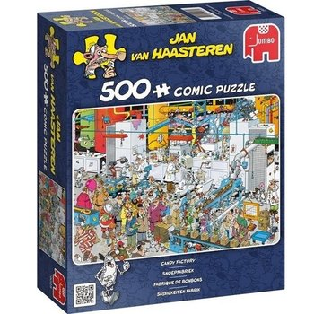 Jan van Haasteren Jan van Haasteren – Snoepfabriek Puzzel 500 Stukjes