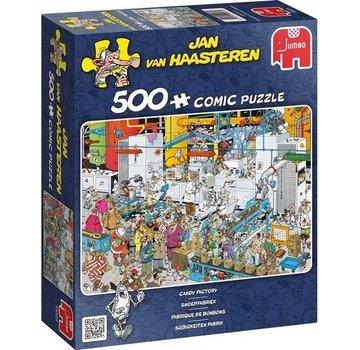 Jumbo Jan van Haasteren - Candy Factory 500 Puzzle Pieces