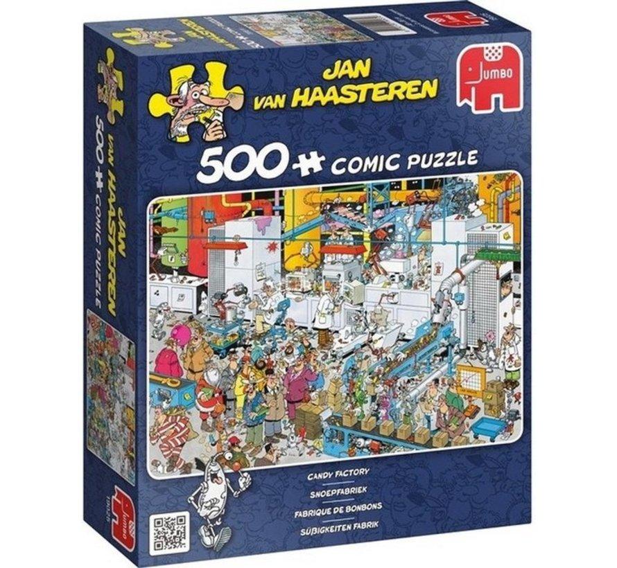 Jan van Haasteren – Snoepfabriek Puzzel 500 Stukjes