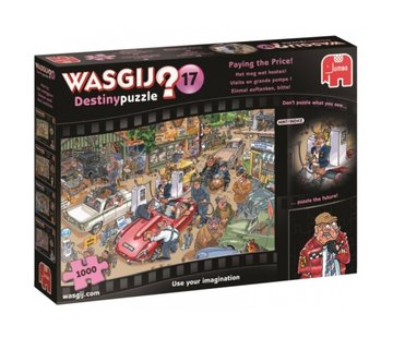 Jumbo Wasgij Destiny 17 Paying the Price Puzzle 1000 Pieces
