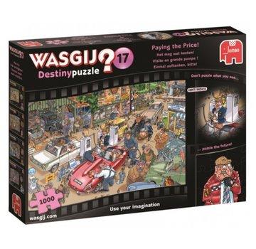 Jumbo Wasgij Destiny 17 Het mag wat Kosten Puzzel 1000 stukjes