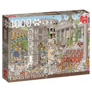 Jumbo Pieces of History – De Romeinen Puzzel 1000 Stukjes