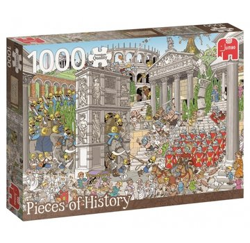 Jumbo Pieces of History - The Romans 1000 Puzzle Pieces