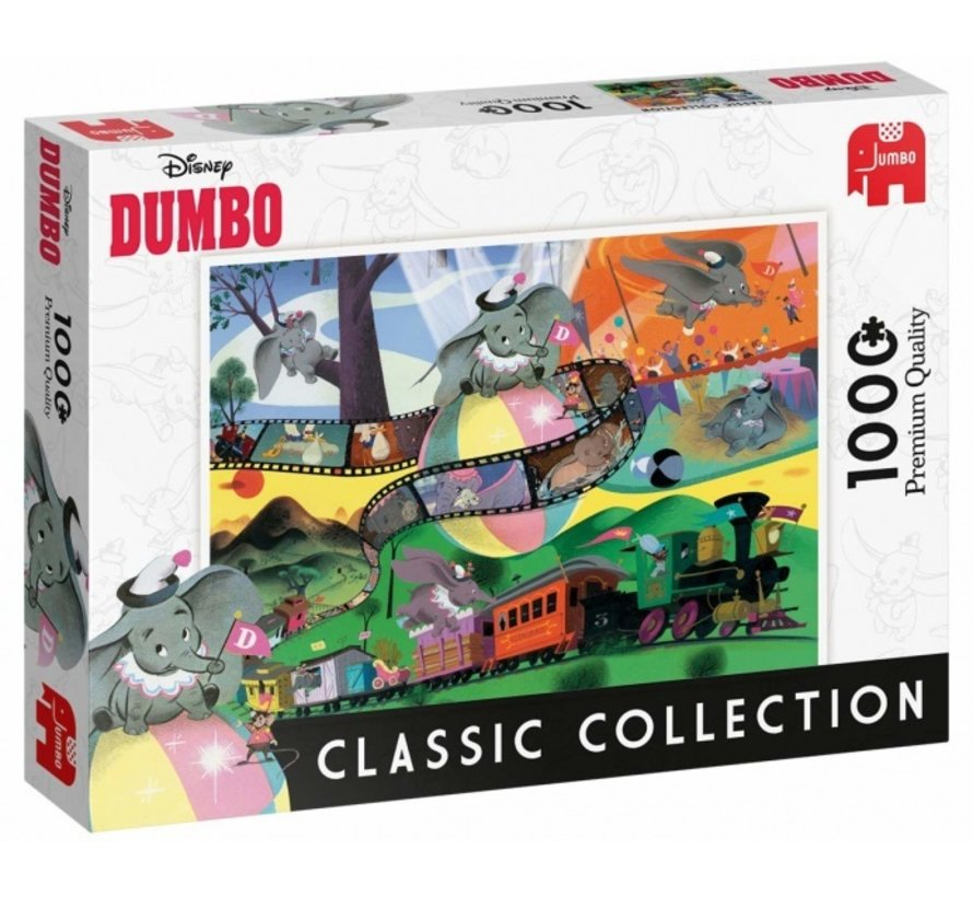 Classis Collection - Disney Dumbo 1000 Pieces