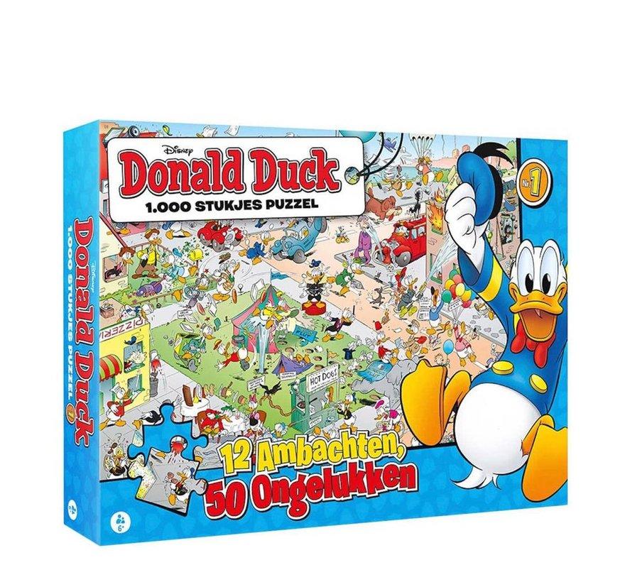Donald Duck Puzzle 1000 Pieces