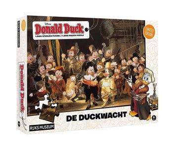 JustGames Donald Duck  Night Watch Puzzle 1000 Pieces