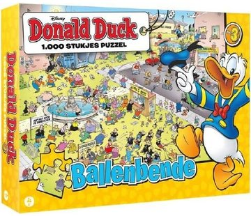 JustGames Donald Duck Balls Gang Puzzle 1000 Pieces