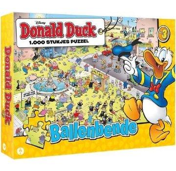 JustGames Donald Duck Gang Balls Puzzle 1000 Pieces