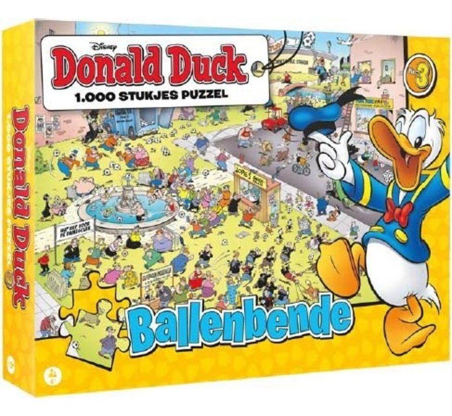 Donald Duck Balls Gang Puzzle 1000 Pieces