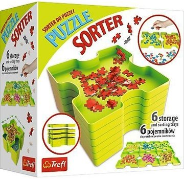 Trefl Puzzle-Sorting; 6 Kästen