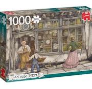 Jumbo Puzzle Anton Pieck The Clock Shop 1000 Pieces