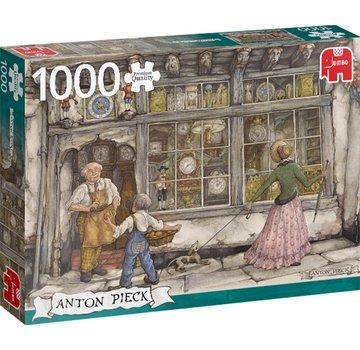 Jumbo Puzzle Anton Pieck Bells Shopping 1000 Pieces
