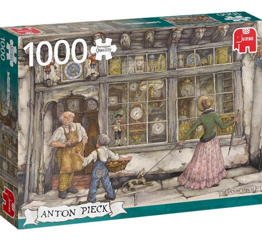 Puzzel Anton Pieck Klokkenwinkel 1000 Stukjes