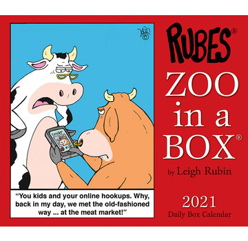 Willow Creek Zoo in a Box  2021 Calendar Boxed
