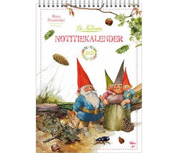 Comello Rien Poortvliet Monthly Notes Calendar 2021 Leprechaun