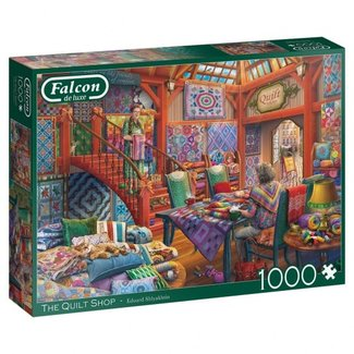 Falcon The Quilt Shop Puzzel 1000 Stukjes