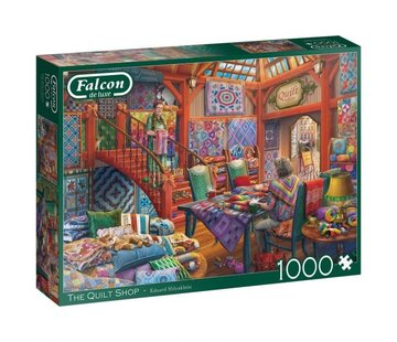 Falcon The Quilt Shop 1000 Piece Jigsaw Puzzle