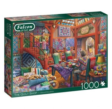 Falcon The Quilt Shop 1000 Piece Jigsaw Puzzle