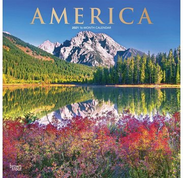 Browntrout America Kalender 2021