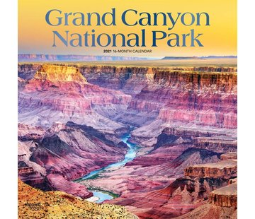 Browntrout Grand Canyon National Calendrier 2021