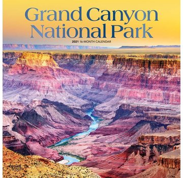 Browntrout Grand Canyon National Park Calendar 2021