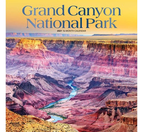 Browntrout Grand Canyon National Park Kalender 2021