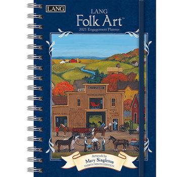 LANG Folk-Kunst-Kalender 2021