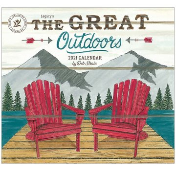 Legacy The Great Outdoors 2021 Calendar