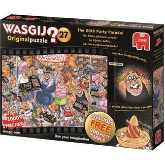 Jumbo Wasgij Original 27 - The 20th Anniversary Parade Puzzle pieces 2x 1000