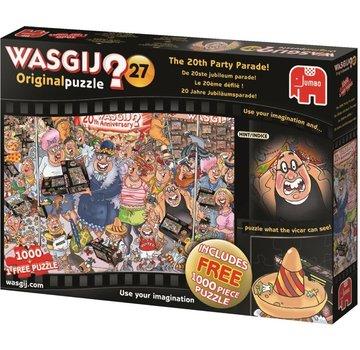 Jumbo Wasgij originale 27 - Le 20ème anniversaire Parade pièces de casse-tête 2x 1000