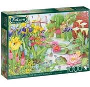 Falcon Flower Show: The Water Garden 1000 Piece Jigsaw Puzzle
