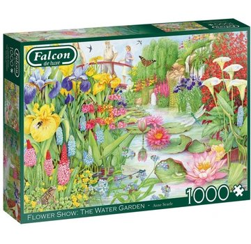 Falcon Flower Show: The Water Garden Puzzel 1000 Stukjes