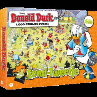JustGames Donald Duck Eend-Tweetje Puzzel 1000 Stukjes