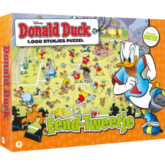 JustGames Donald Duck-zwei Puzzleteile in 1000