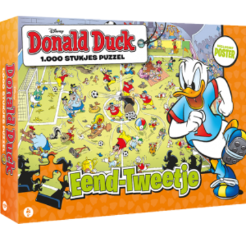 JustGames Donald Duck Duck-two puzzle pieces in 1000