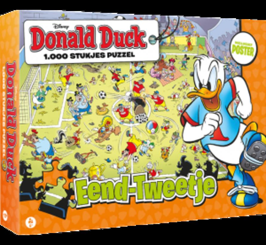 Donald Duck Eend-Tweetje Puzzel 1000 Stukjes