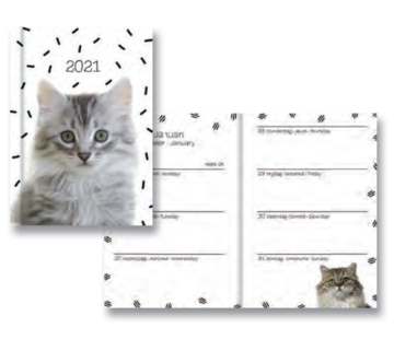 Hallmark Chats Calendrier 2021 gris