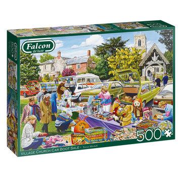 Falcon Village Church Car Boot Sale 500 Puzzle Pieces