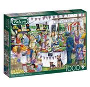 Falcon The Village Show 1000 Piece Jigsaw Puzzle